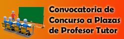 Convocatoria de Plaza a Profesor Tutor